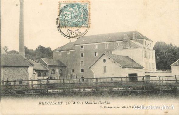 Moulin Usine breuillet