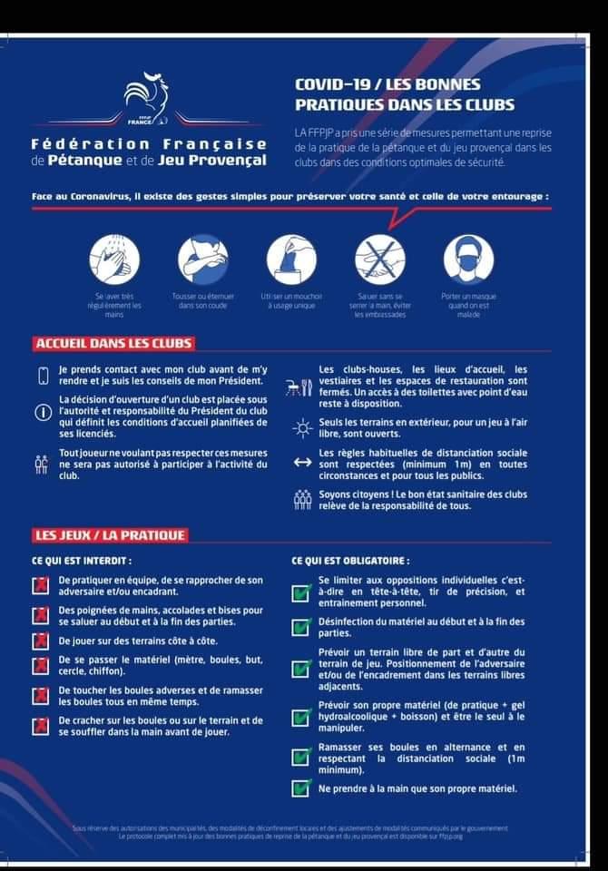 Infos FFPJP - Les bonnes pratiques dans les clubs