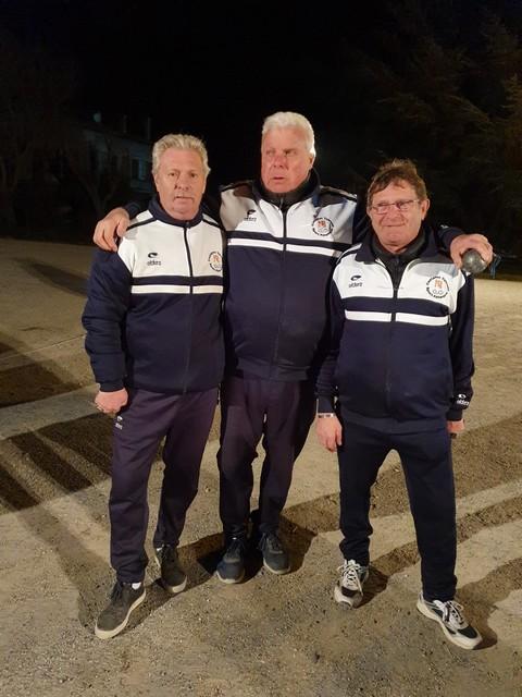 Résultats Qualificatifs Secteur Triplettes vétérans