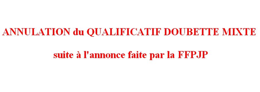 Annulation Qualificatifs Secteur DM