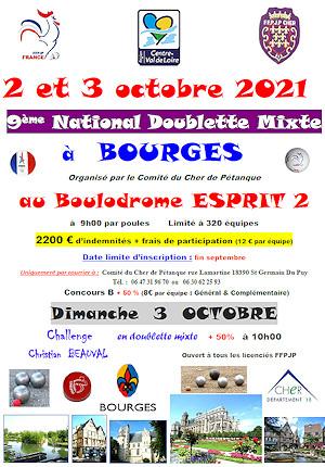 National Doublette Mixte de Bourges