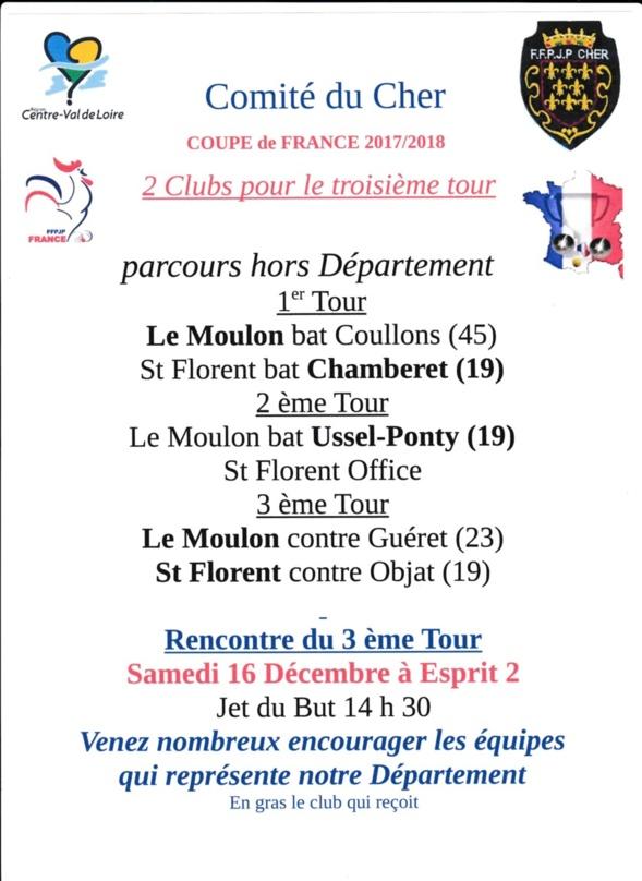 COUPE DE FRANCE :2017/2018