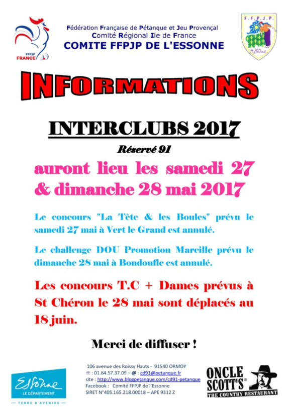 INFORMATIONS