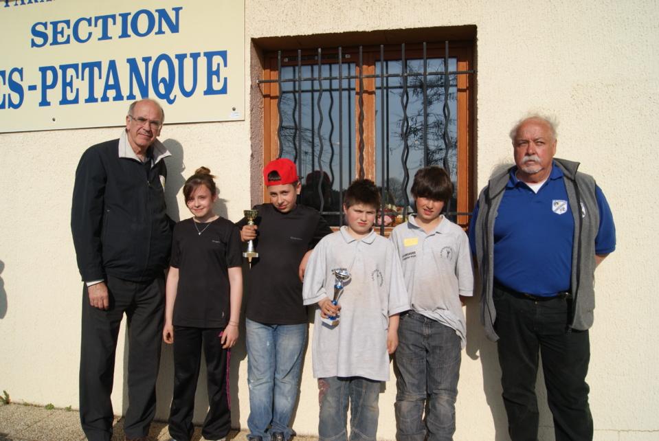 Championnat doublette jeunes