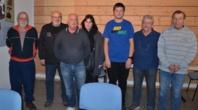 de G. à D.: Michel CROZE, JC BEJARANO, Joseph JUBAN, Marie Anaïs FAURE, Florian GUILHOT, Roland RIOU, Henri FERNANDEZ