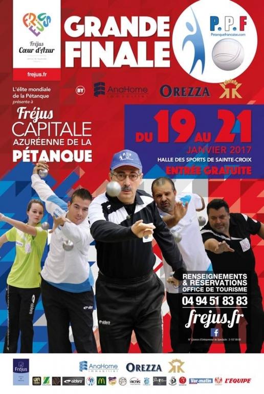 Grande Finale PPF, Du 19 au 21 janvier 2017.