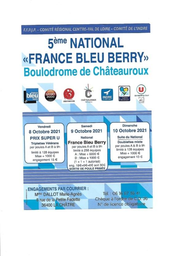National France Bleu Berry à Chateauroux