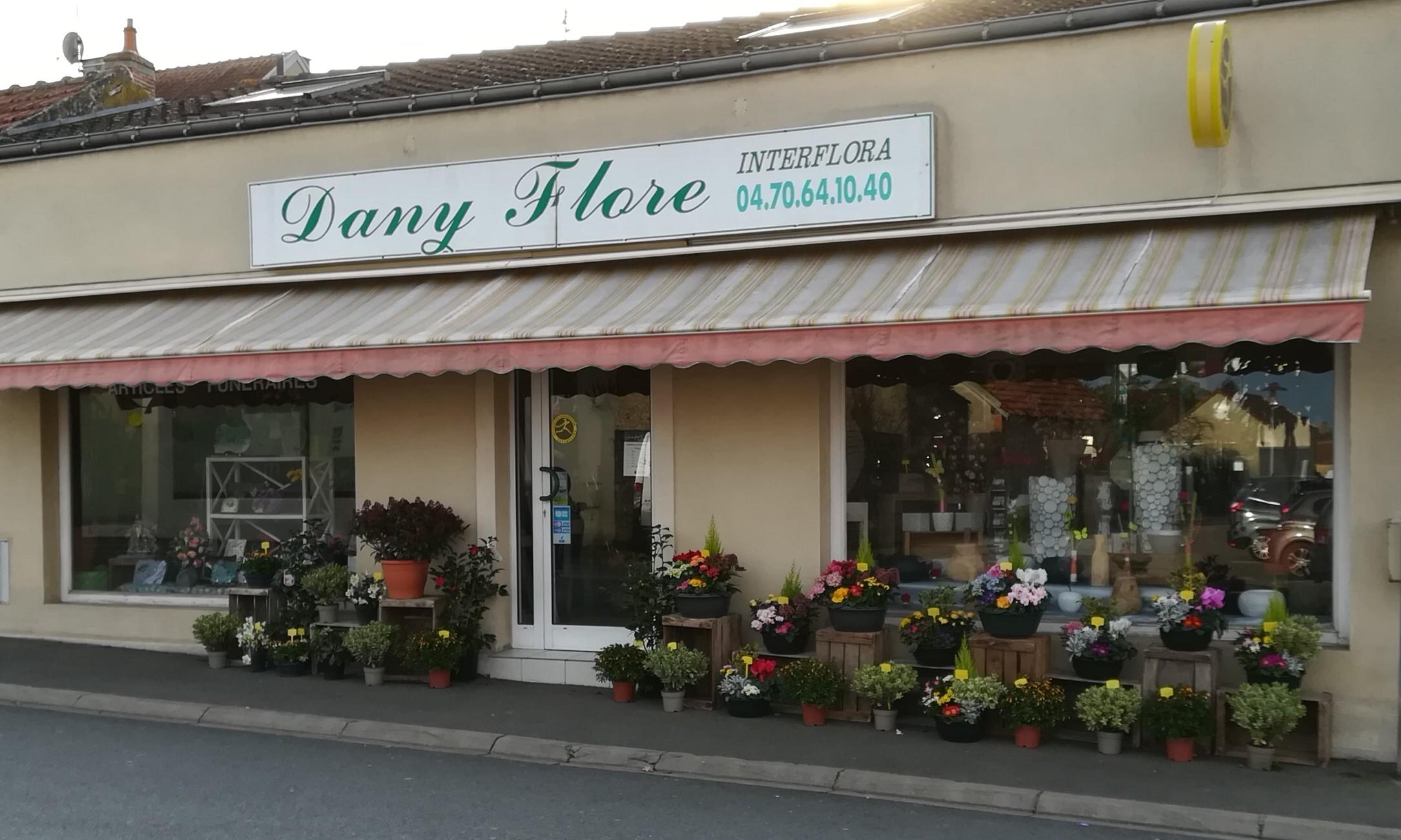 En toute occasion Dany Flore ( Interflora ) sera à votre service pour vous aider et vous conseiller. Ouvert  du mardi au vendredi de 09h00 à 19h00 le samedi de 09h00 à 19h30 et le dimanche de 09h00 à 12h30.