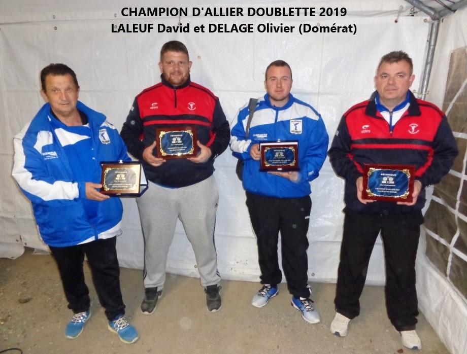 Les finalistes 2019