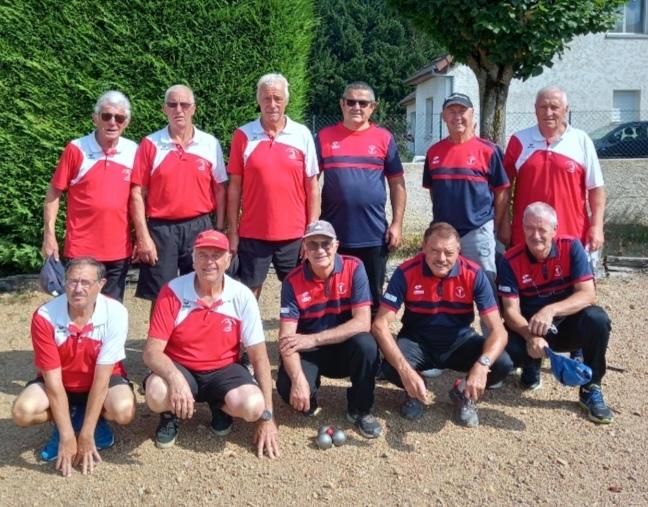 L'équipe de Domérat et Neuilly le real