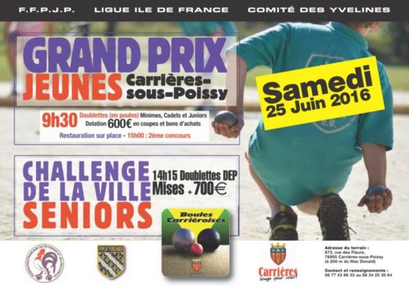 Grand Prix Jeunes des Boules Carriéroises (CD78)