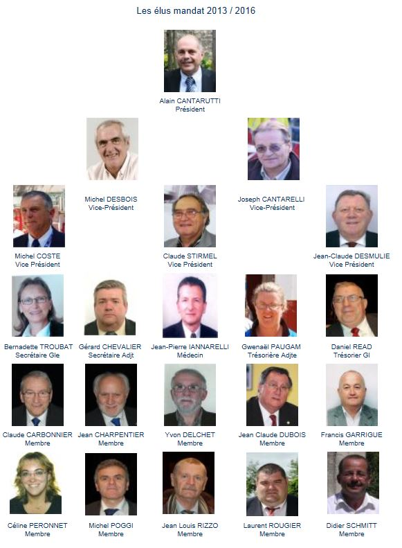 Membres de la FFPJP