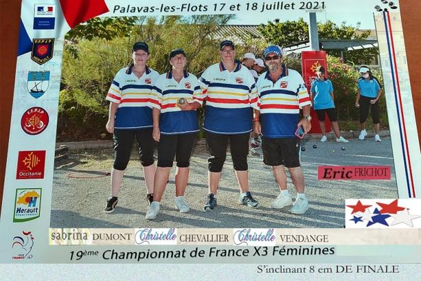 CHAMPIONNAT DE FRANCE  AUTHEUIL AUTHOULLET PETANQUE