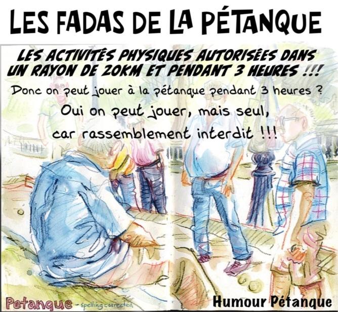 LES FADAS DE LA PETANQUE : AMITIE AVANT TOUT...