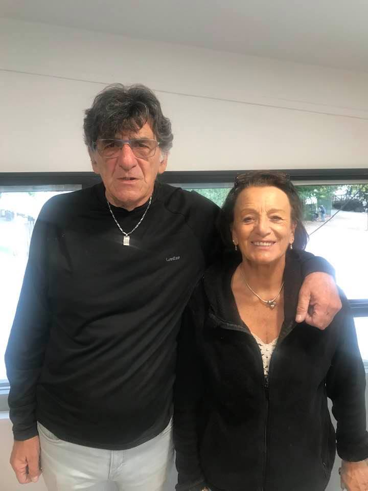 Christian COLONNA en compagnie de sa compagne Maryse