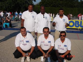 LA TRIPLETTE CHAMPIONNE DE LIGUE 2010 à NICE
