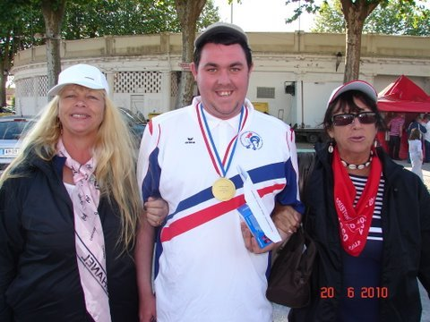 Champion de France 2010 Kevin PHILIPSON