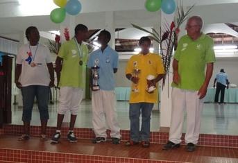 ROSET Ricardo champion Antilles-Guyane en tête à tête
