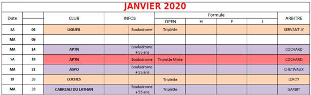 Ffpjp Calendrier 2020.Calendrier Ffpjp En Indre Et Loire 2019 2020
