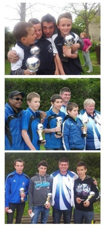 Championnat Départementaux Triplettes Jeunes 2013