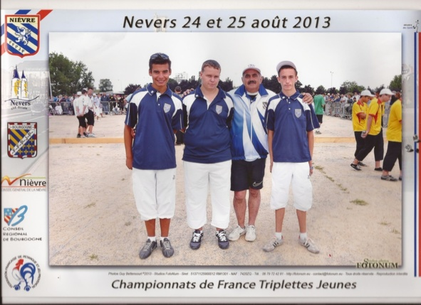Championnat de France Junior- Nevers 2013