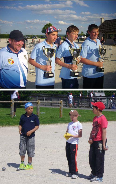 Championnat de Ligue Triplettes Jeunes 2014