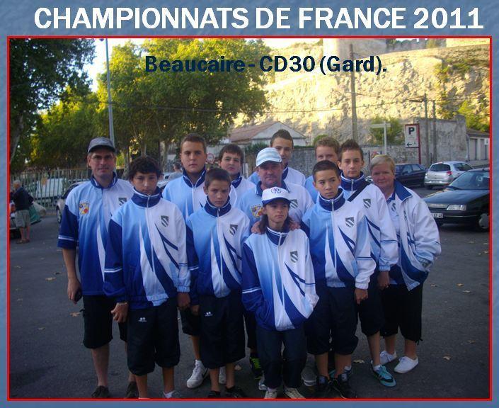 CHAMPIONNAT DE FRANCE 2011- LE GROUPE