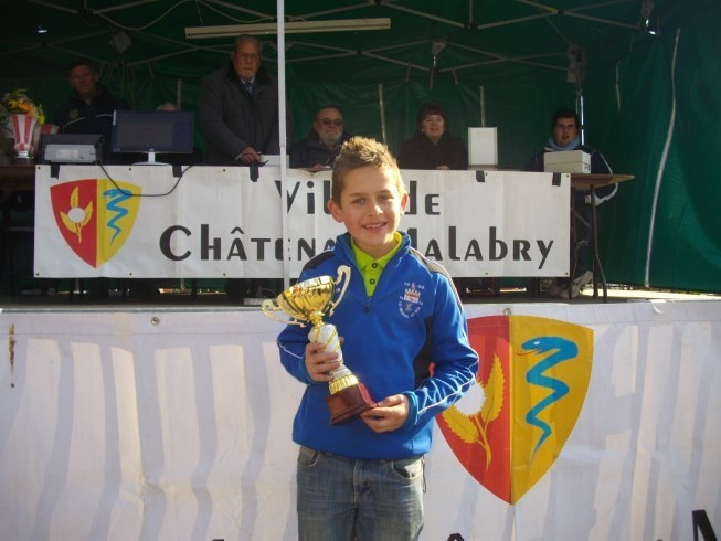 Anthony BERTHELEU, Champion de Ligue en TàT Minime