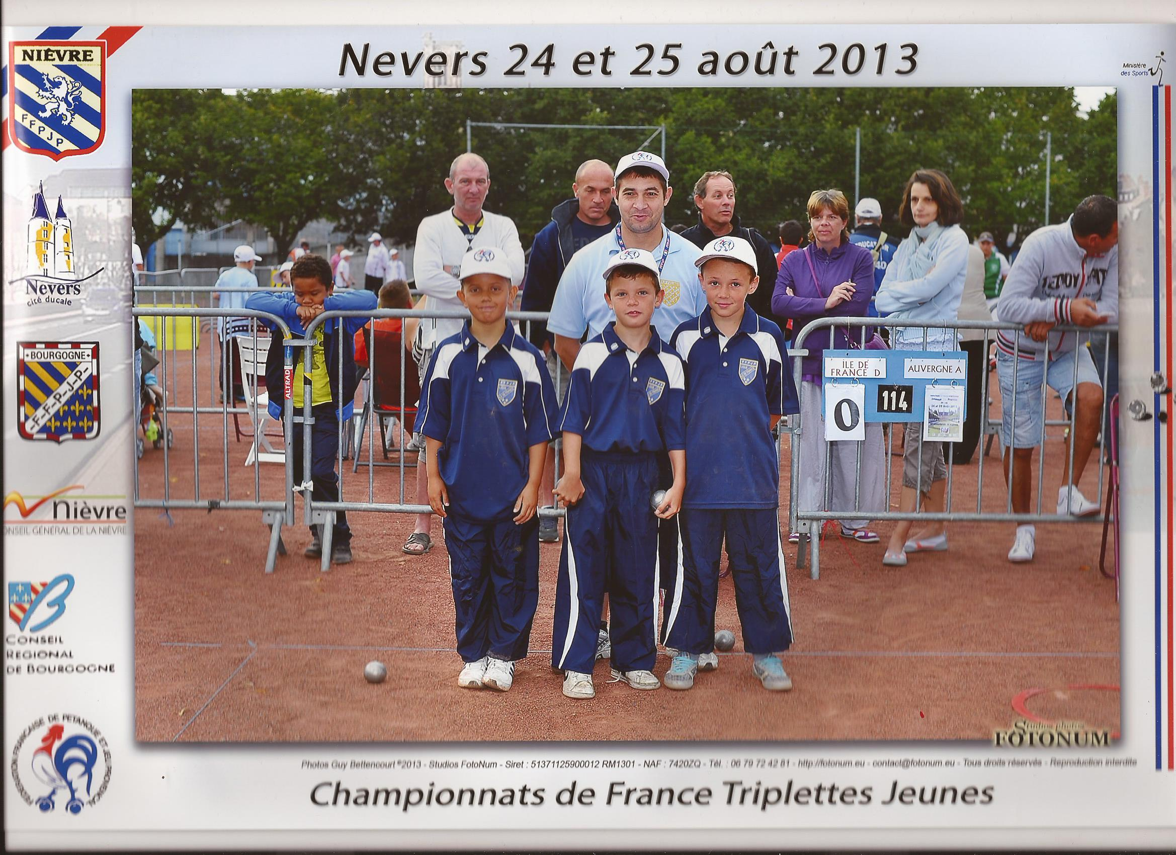Championnat de France Minime- Nevers 2013