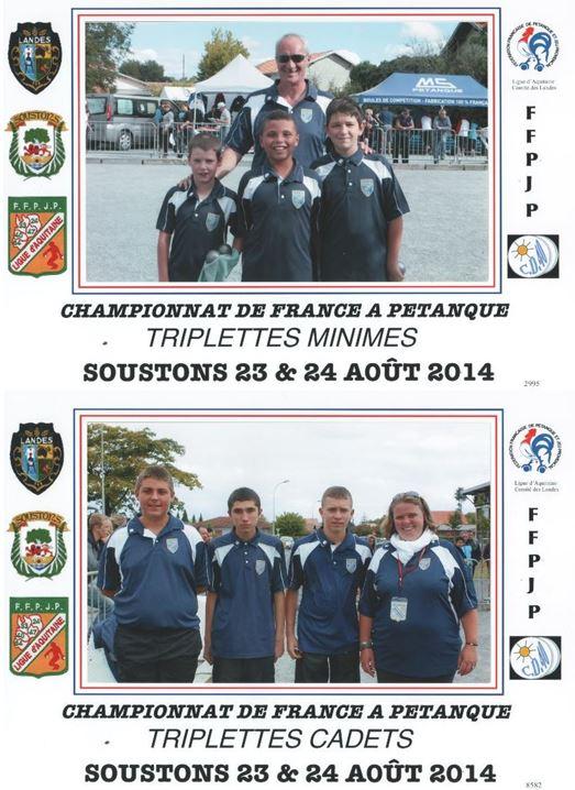 Championnat de France 2014 à Soustons