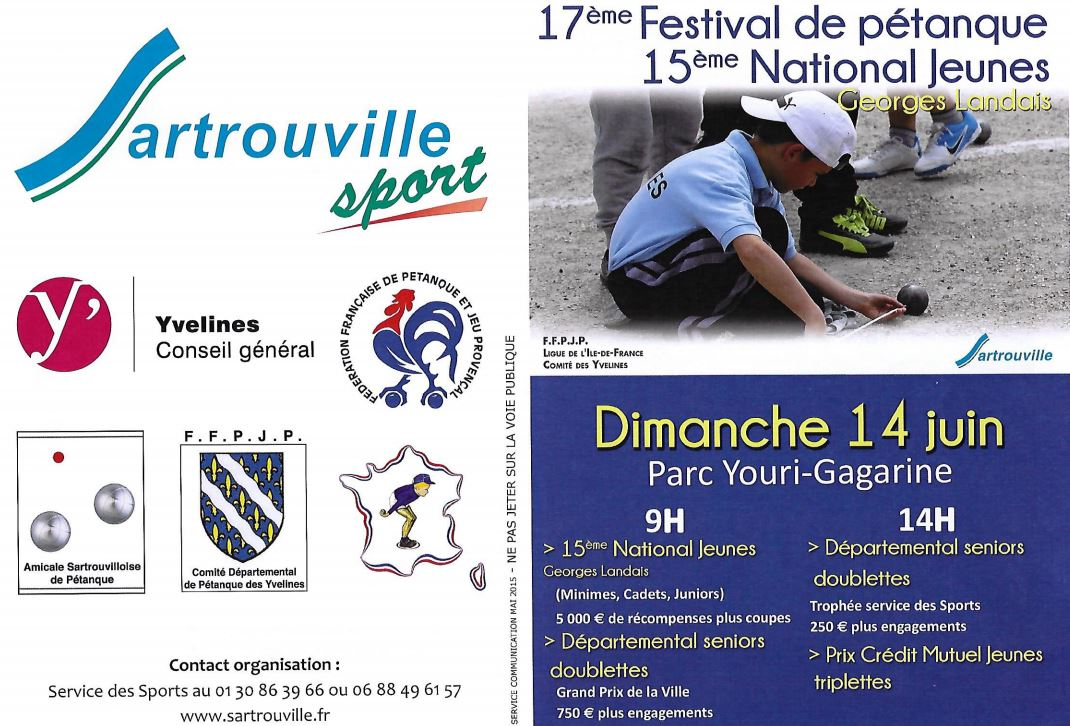 National de Sartrouville 2015