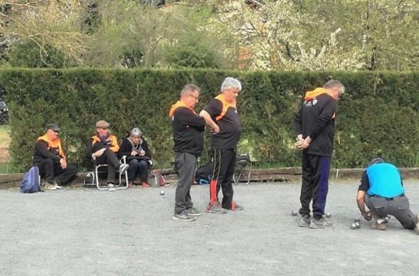 Championnat Triplette Vétérans