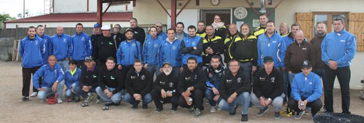 le championnat des clubs séniors à Néris, 6 clubs sur nos terrains