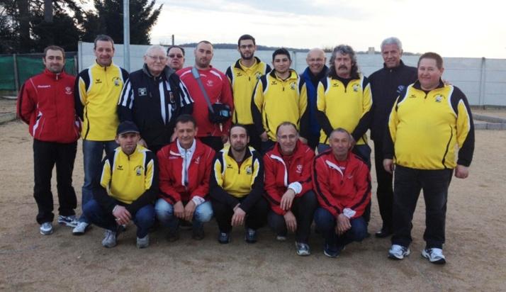 belle victoire de Larequille Néris en championnat des clubs, régional
