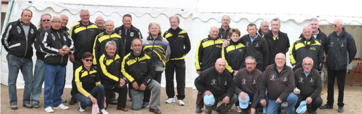 jeudi 19 mai : nos vétérans accueillaient Venas et Les Marais B