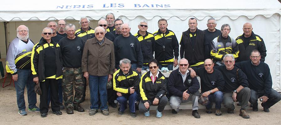 championnat des clubs, vétérans, Néris recevait Montmarault