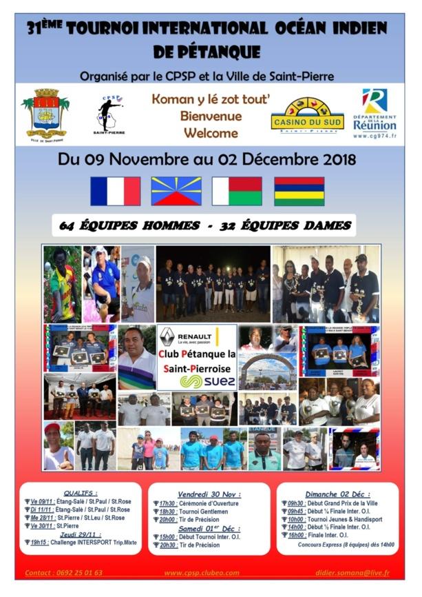 Inter OI de Saint-Pierre - 31ème édition