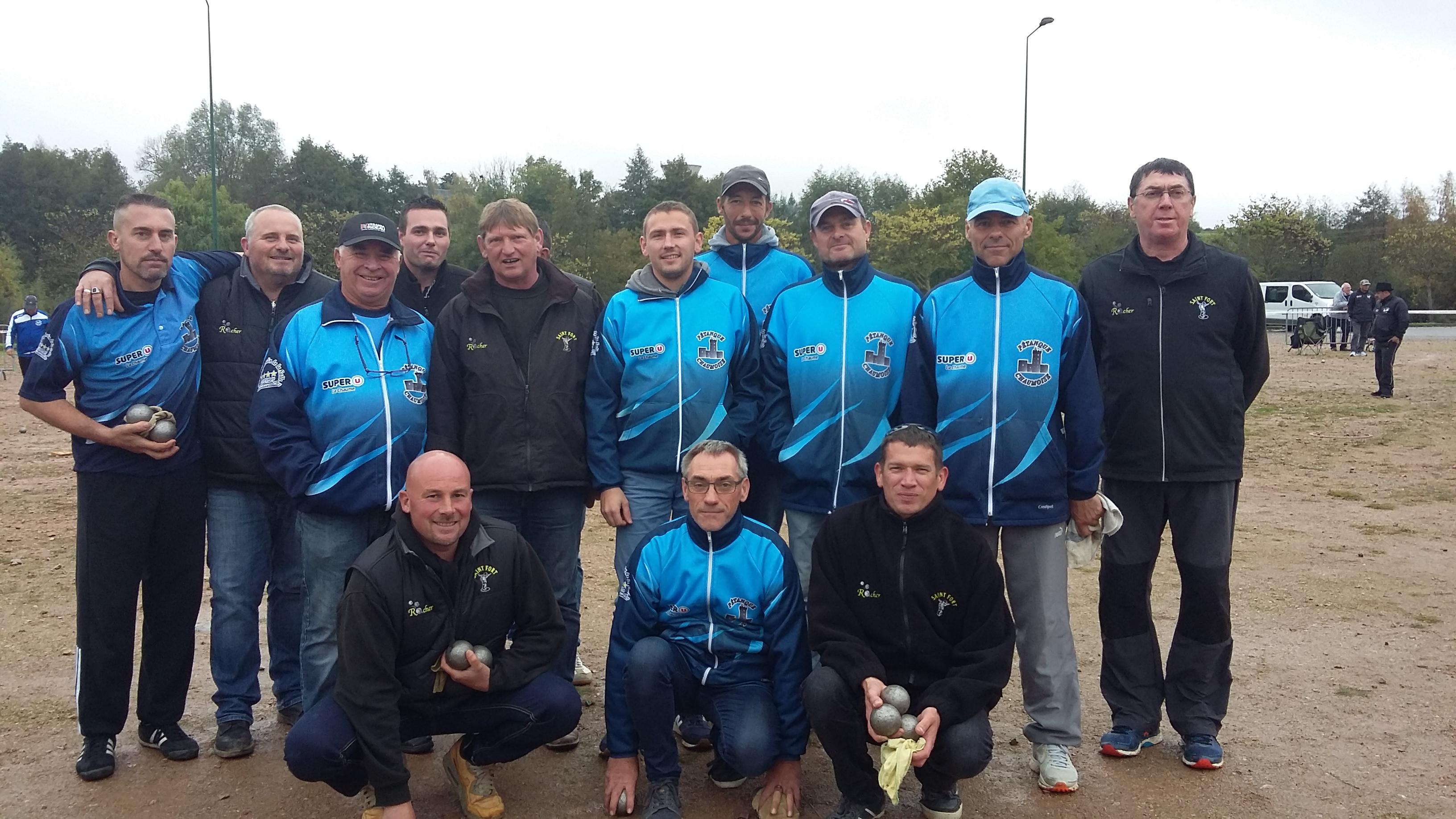 Le maintien en région pour St Fort 1 au championnat des clubs