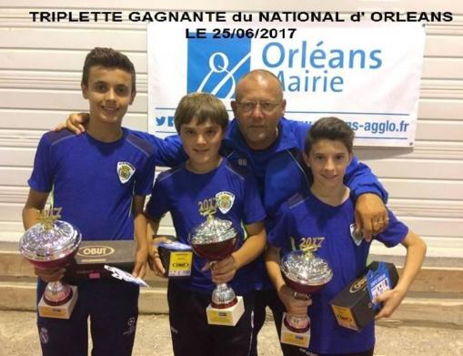 """National """" jeunes"""" Orléans 25/06/2017"""
