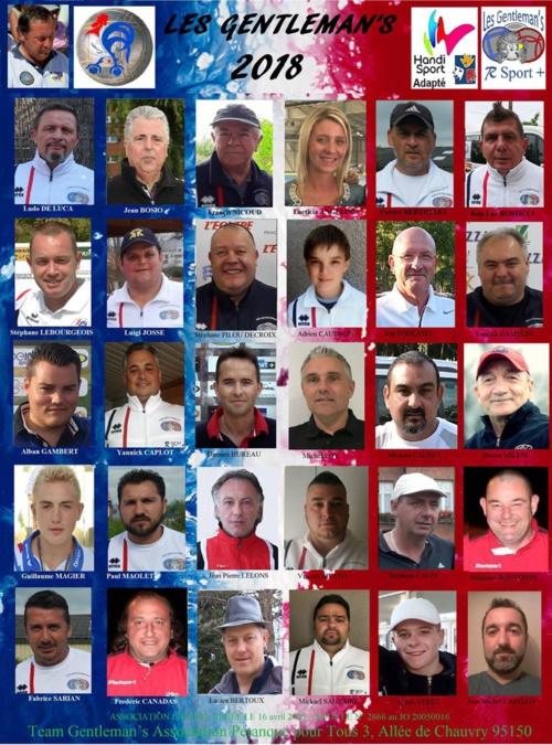 La team 2017/2018/2019
