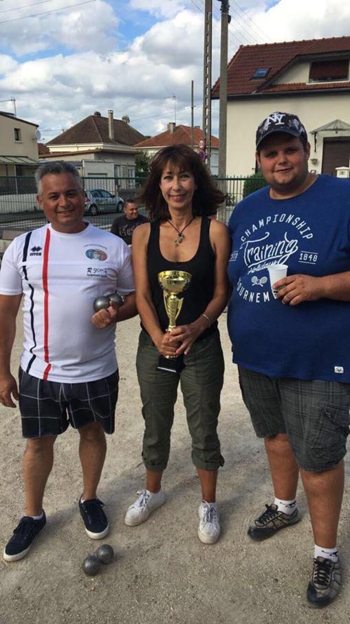 Triplette mixte de Corbeil Essonnes 91 le 14/07/2017