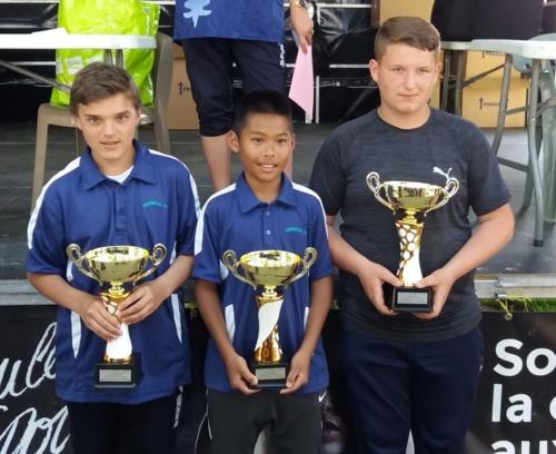 Championnat triplettes cadet du 77