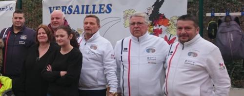 Journée caritative Versailles 78 le 13/01/2019