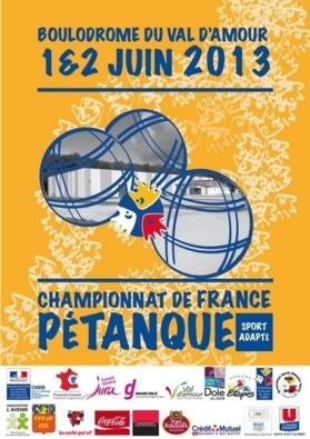 Championnat de France de Pétanque Sport Adapté 2013