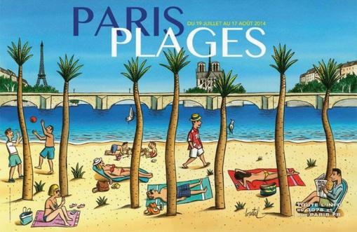Paris-Plages 2014