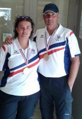 Championnat de France doublette mixte 2015