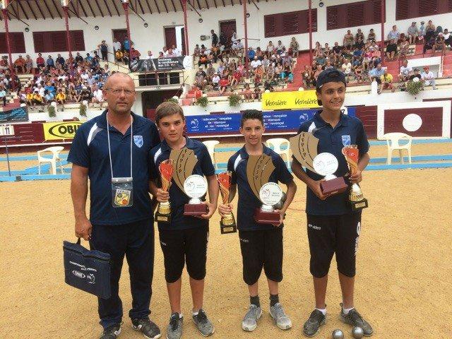 Championnat de fRANCE jeunes à Soustons 09/2017
