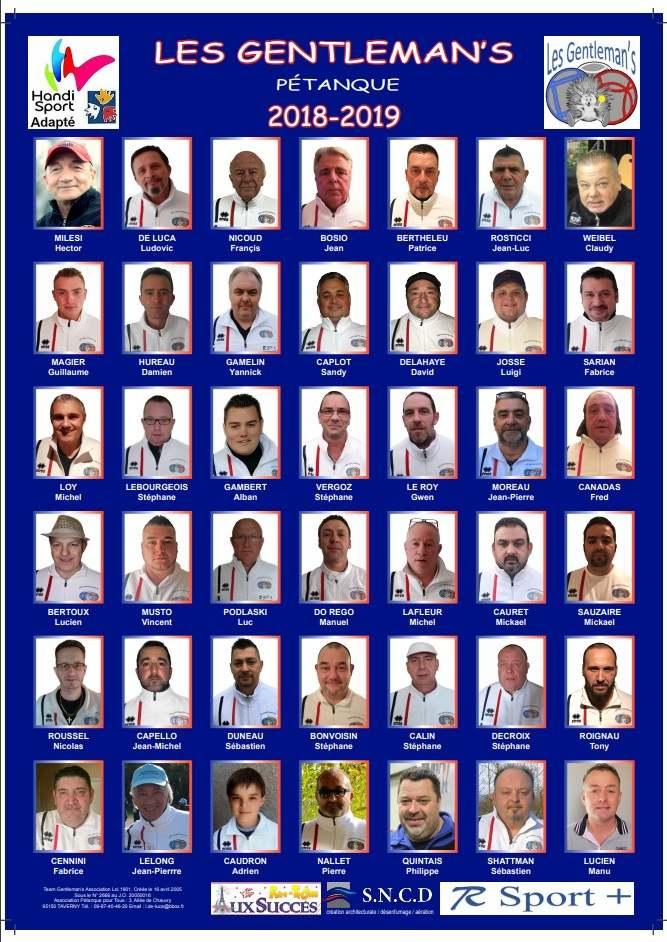 La team 2018 / 2019