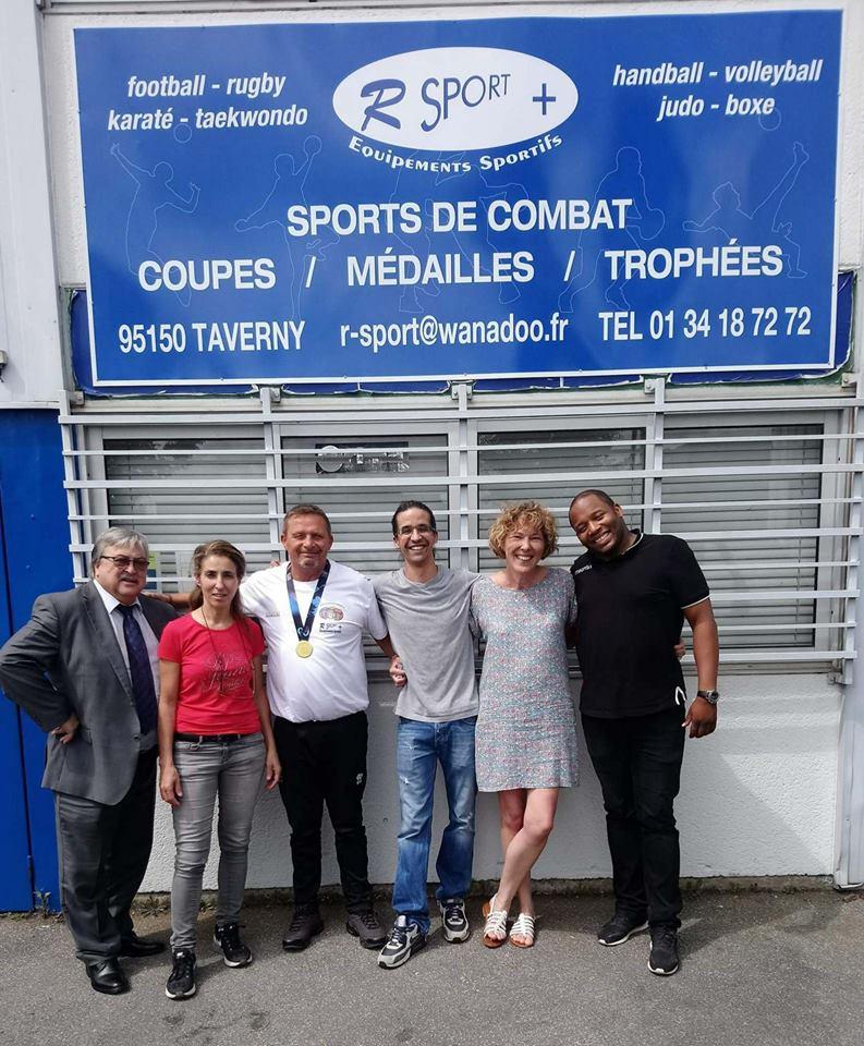 "R.SPORT + sponsor ""maillots"" des ""gentleman's"