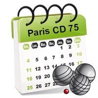 Calendrier Officiel FFPJP CD75 Saison 2015